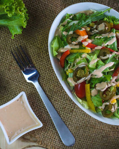 Chipotle Salad with Chipotle Dressing - Naturals