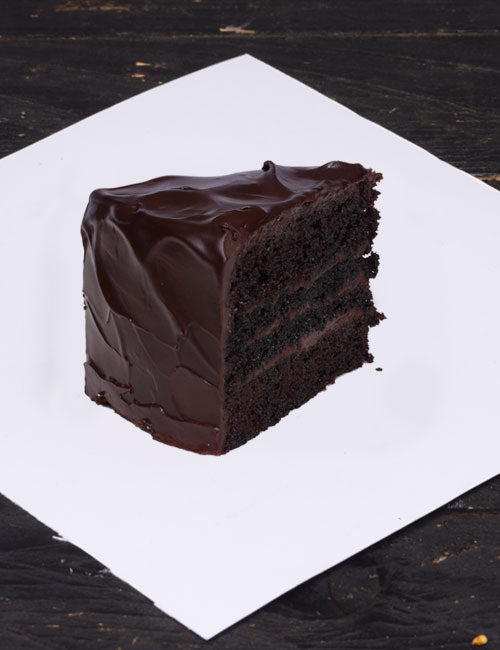 Chocolate Fudge Cake Slice - Naturals
