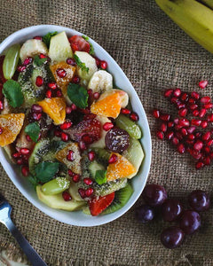 Tropical Fruit Salad with Lemon Dressing - Naturals