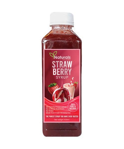 Strawberry Syrup - Naturals