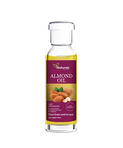 Cold Pressed Almond Oil - Naturals