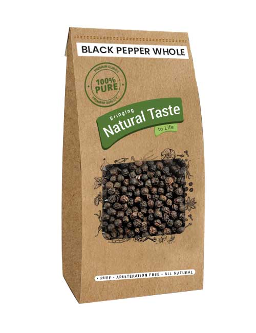 Black Pepper Whole  (100gm) - Naturals