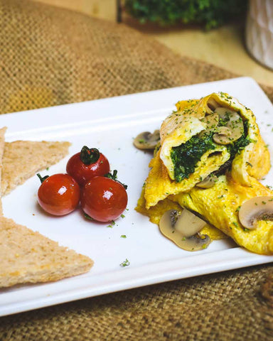 Cheese & Mushroom Omelette - Naturals