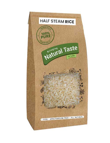 Half Steam Rice - Naturals