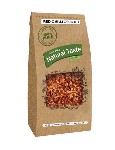 Red Chilli Crushed - Naturals