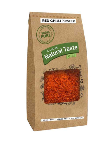 Red Chilli Powder (200gm) - Naturals