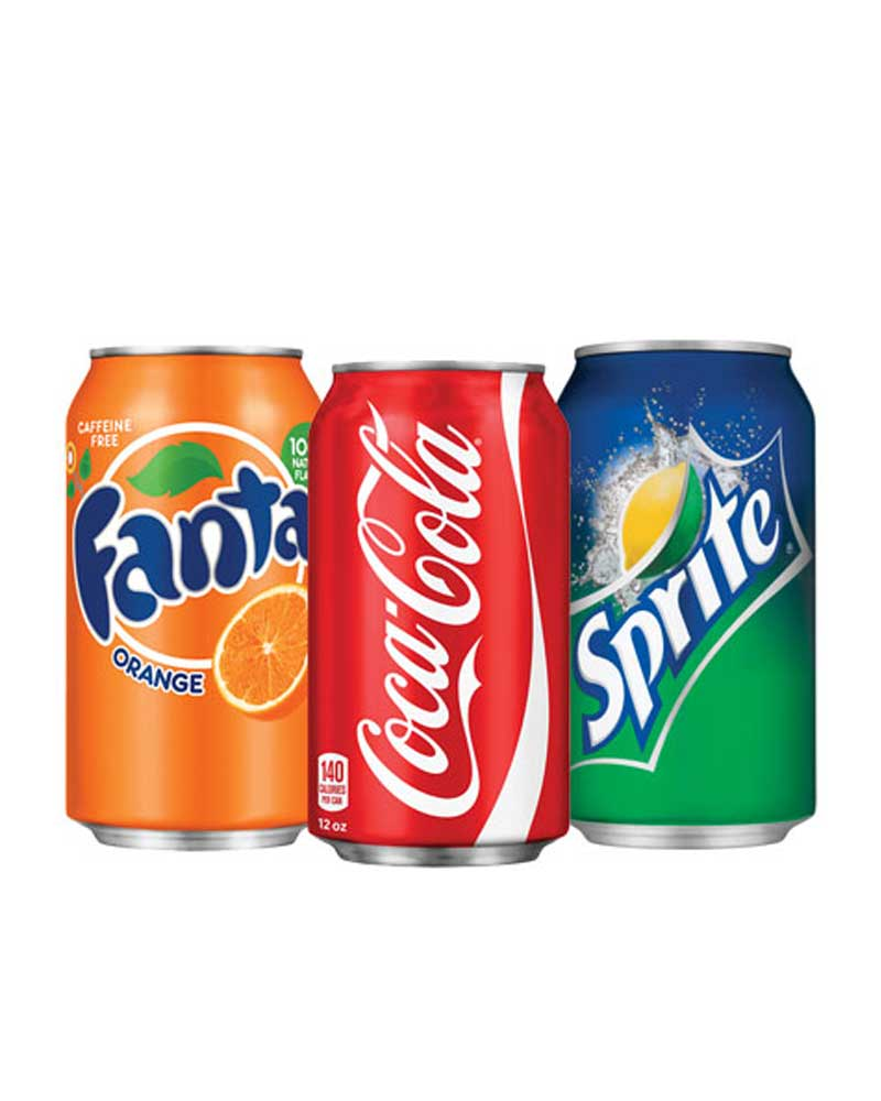 Soft Drinks (250ml Can) - Naturals