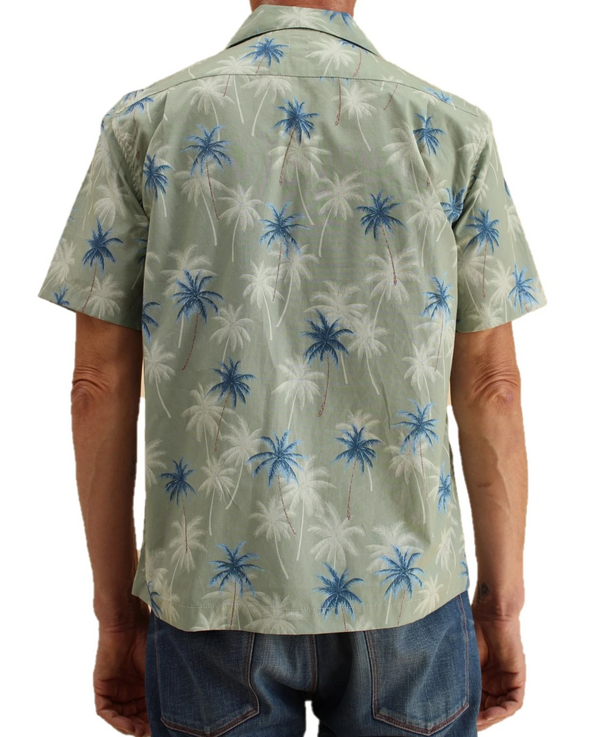 "KATO - ""The Wrench"" Aloha Lawn Shirt - Green"