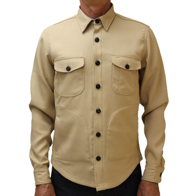 Kato - The Anvil Twill Jacket - Beige