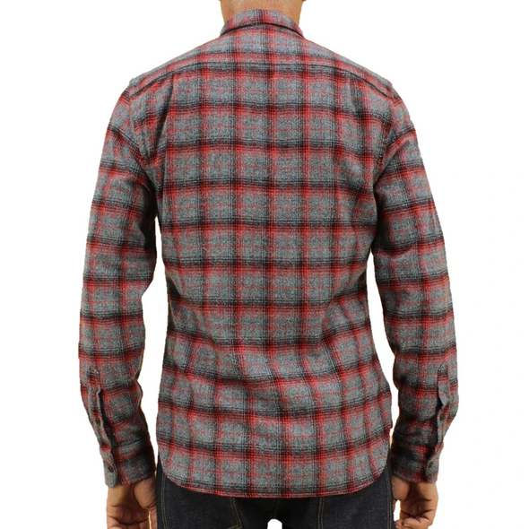 The Ripper L/S Shirt Red Vintage Plaid