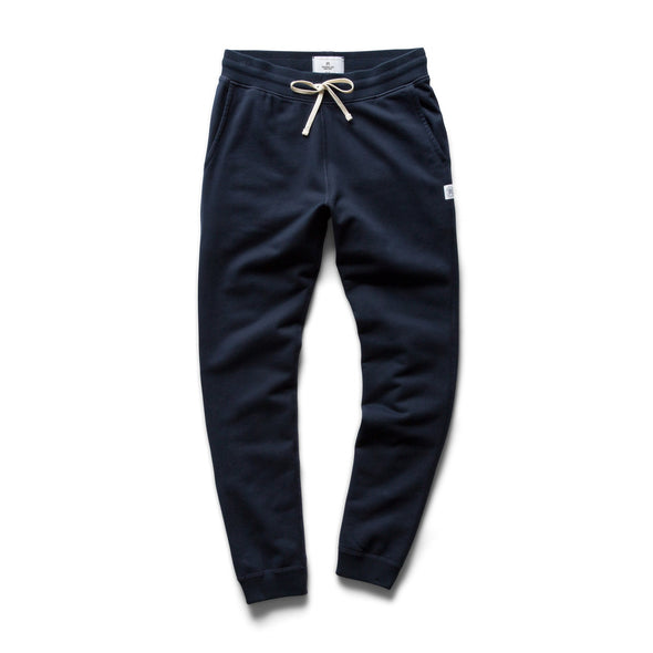 RC-Mid Wt Terry Slim Sweatpant -Navy