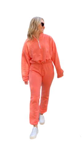 LNA Terry Sweat - Coral