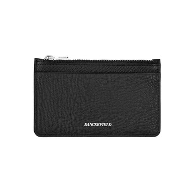 Dangerfield - Zipped Cardholder - Pebble Black