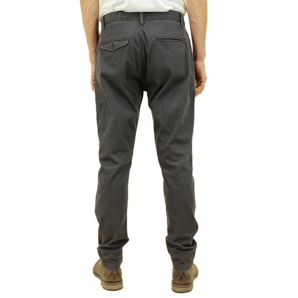 Kato - The Axe Hounds Tooth Denit Slim Chino - Gray