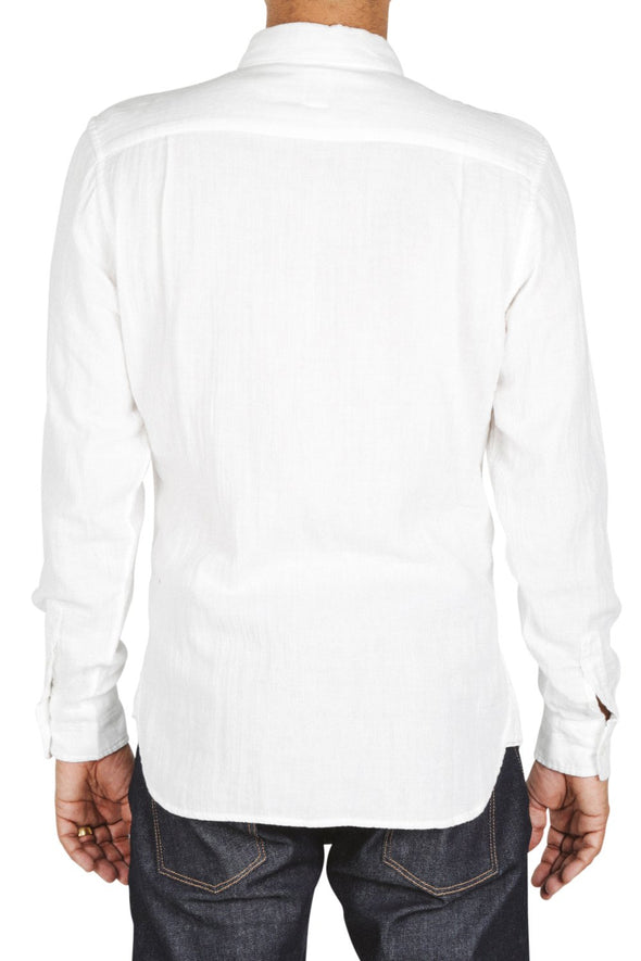 The Ripper LS Shirt Vintage- Dbl Gauze-White