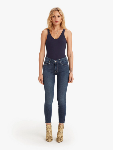 Mother Denim - The Looker Ankle Fray - Girl Crush