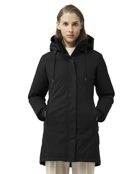 Quartz Co Genia Jacket- Black