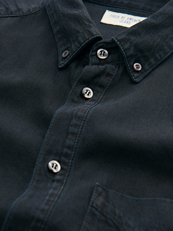 Tiger of Sweden- Rit Denim Shirt - Black