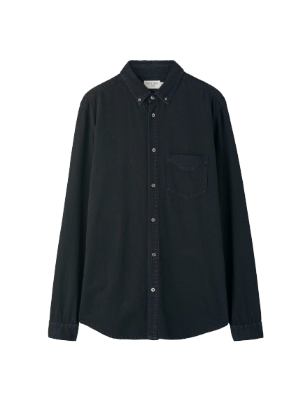 Rit - Denim Shirt - Black