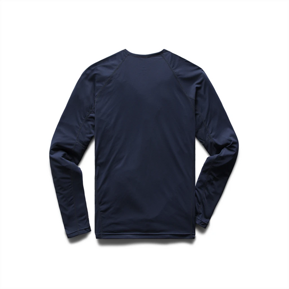 Knit Training Ls Crew - Navy