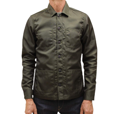 Kato - The Vise Twill Jacket - Military Green