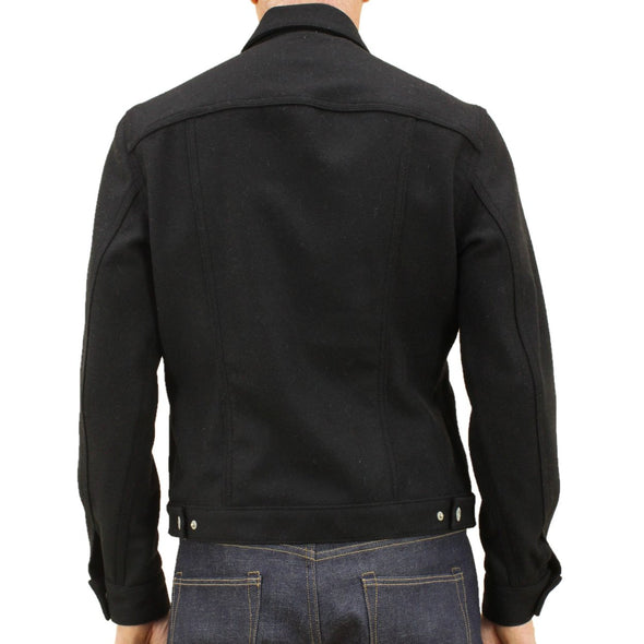 KATO- The Blade G Jacket Black Heavy Melton
