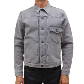 Kato - The Blade 10.5 oz Selvedge G Jacket - Gray Jimmy