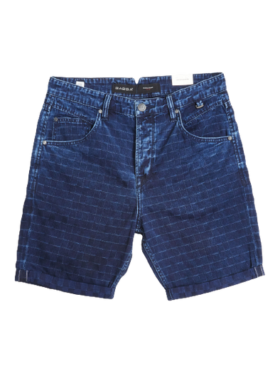 Gabba - Anker Check Shorts - Navy