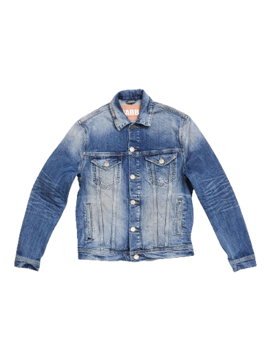 Gabba - Dave K380 Denim Jacket - Mid Blue