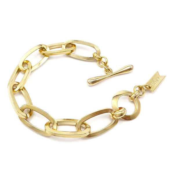Biko Essential Chainlink Bracelet- Gold