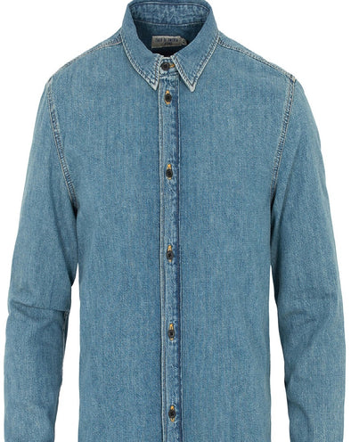 Tiger of Sweden Medium Blue Denim Shirt
