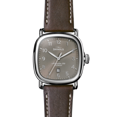 Shinola - The Guardian - Gray/Deep Brown
