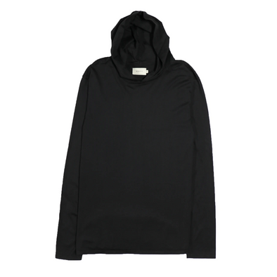 Basis LS Pullover Hoody - Black