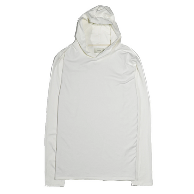 Basis LS Pullover Hoody - Off White