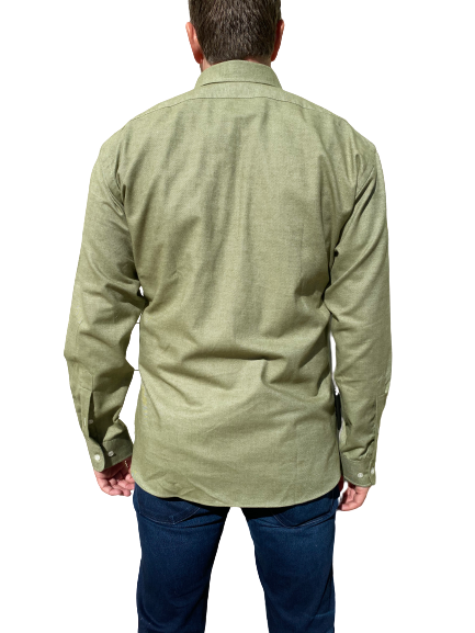 Kovalum- Sawyer Brushed Cotton Twill - Olive
