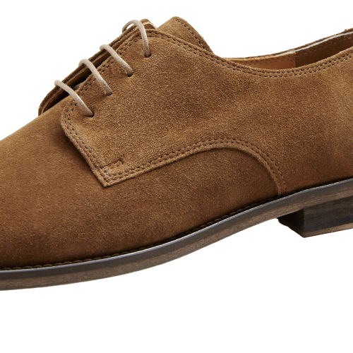 Brother Frere- Marlow Suede Shoe - Cognac