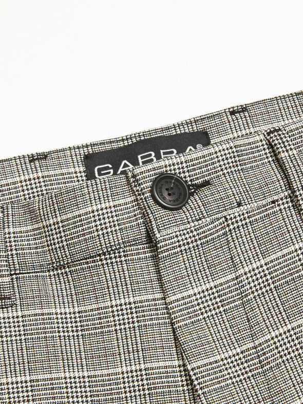 Gabba Denim - Petite Check - Brown Check