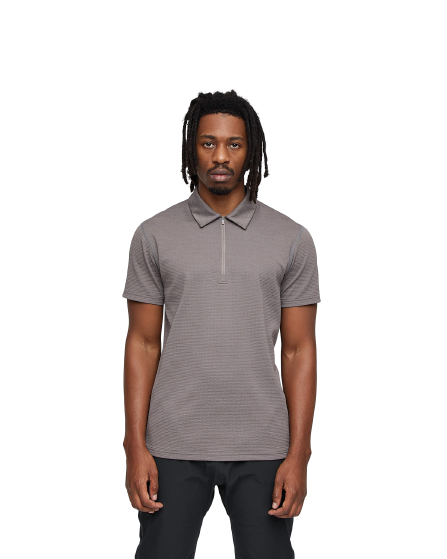 Reigning Champ - Solotex Mesh Polo - Trail