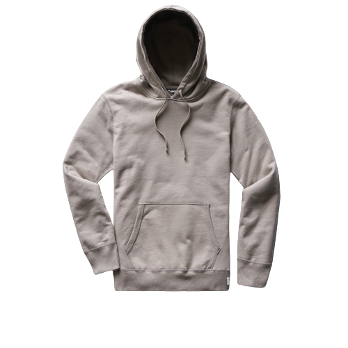 Reigning Champ - Mid Wt Terry Pullover Hoodie - Silt