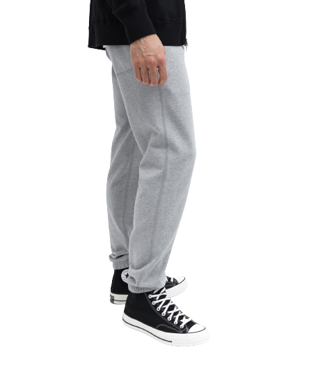 RC- Knit Mid Weight Cuffed Sweatpant- H. Grey