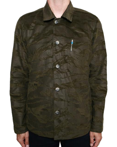 Harbor Jacket Tiger Stripe Camo Olive