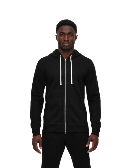 RC - Mid Wt. Terry Zip Hoody - Black