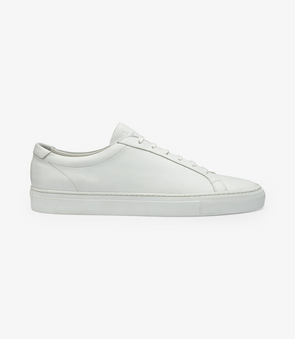 Loake - Sprint Shoe - White Calf