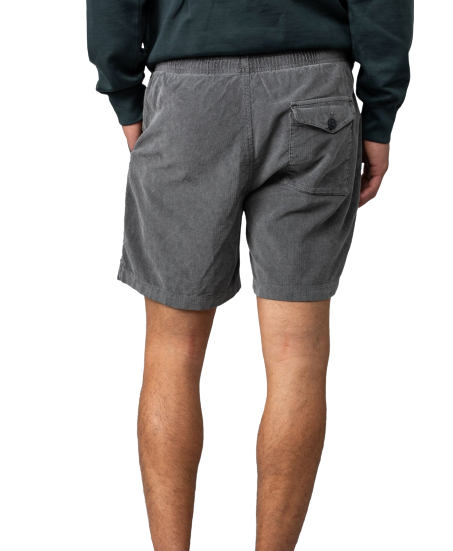 S.K.U - Corduroy Easy Short - Black