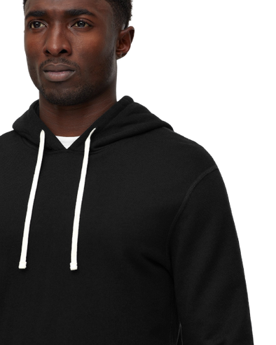 RC- Midweight Pullover Hoody - Black - M. black