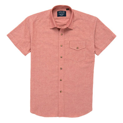 Kovalum - Plain Short Sleeve - Red