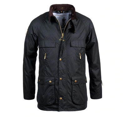 Barbour Icons Bedale Waxed Jacket - Sage