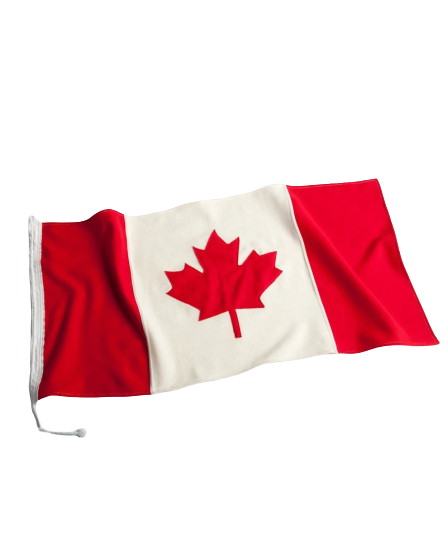 Shop The Fold - Canadian Flag - Red
