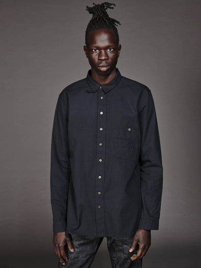 Matias Denim - Surfari Shirt - Vintage Black