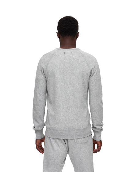 RC Knit Lightweight Terry Crewneck -H. Grey
